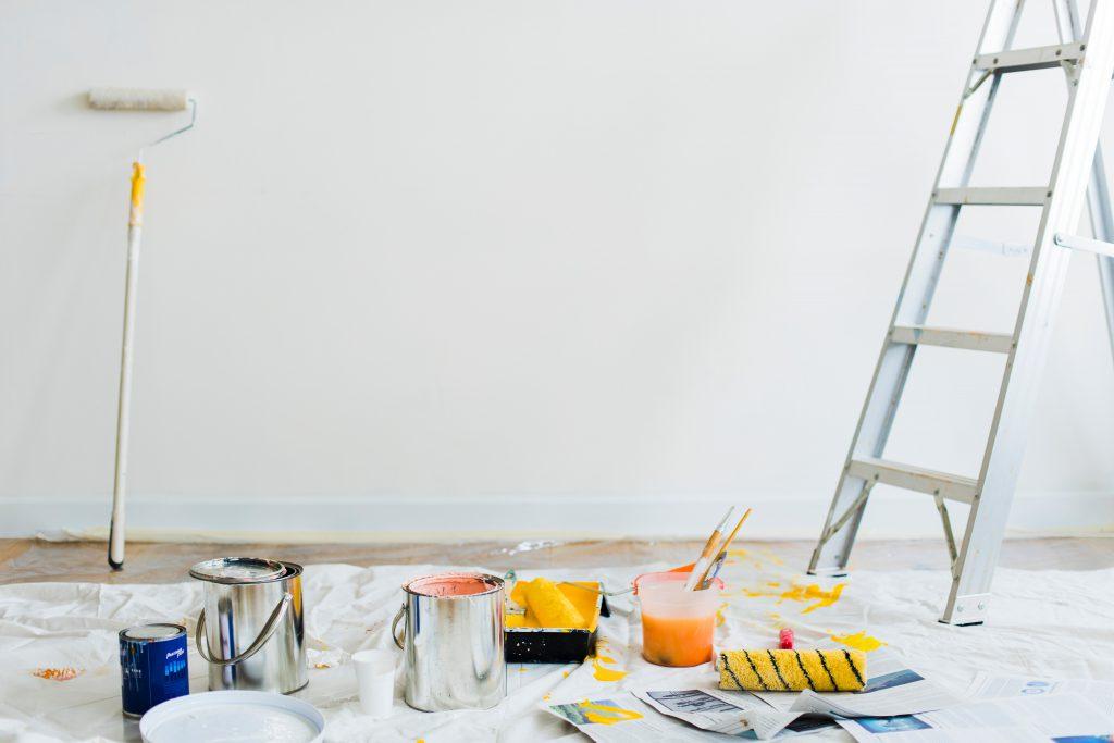 Malerarbeiten, Renovation